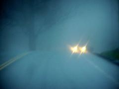 Hogback Mt. shrouded in Fog
