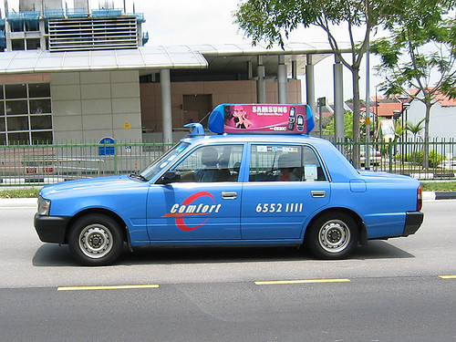 Blue Comfort Taxi | Flickr - Photo Sharing!