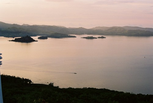 Some of the seventeen islands of Riung