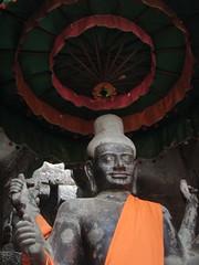 buddha inside angkor wat