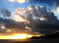 Sea and sky (neloqua) Tags: ocean light sunset sea summer brazil sky sun sunlight beach southamerica water beautiful riodejaneiro clouds wonderful wonder daylight amazing fantastic perfect colorful great sunny excellent summertime moment lovely charming magical sunsetlight shining niteroi sunnyday