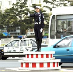 china traffic cop