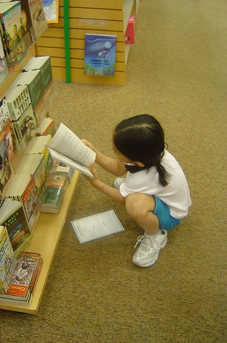 Choosing books USA