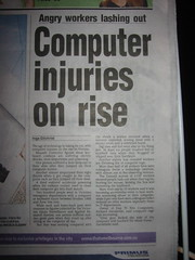 Computer injuries on rise
