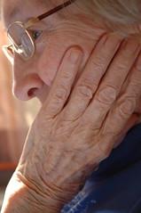 my gran (Vina the Great) Tags: gran portrait hand