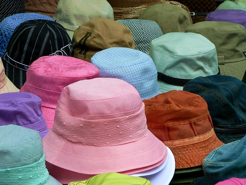 Muestrario de sombreros