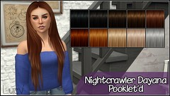 Nightcrawler Dayana Hair # Pooklet textures (mertiuza) Tags: los sims sim ts4 ls4 sim4 sims4 lossims thesims lossims4 thesims4 luev tarihsims tarihsim ts tarih recolor recolors mertiuza tarihsimsnet wwwtarihsimsnet download downloads descarga descargas custom content contenido personalizado cc pooklet pookletd hair cabello pelo retexture retextures dayana female night crawler nightcrawler