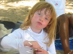 izziebeachcloseup (joliemelodie) Tags: isabelle 4yrs beach martinique