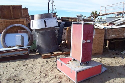 My SAS galley cart: As found at an aircraft scrapyard