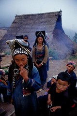 LAOS (BoazImages) Tags: people mountain beautiful hat kids women colorful asia southeastasia village tribal tribes remote itsongselection1 mirrorsofsociety laos indigenous hilltribe mountainpeople itsongnikonf90x itsongmirrorssoutheastasia akah ikor