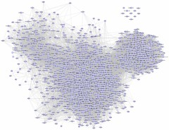 mc-50: flickr's social network (GustavoG) Tags: wow flickr graph social socialnetwork network cgi demographics analysis