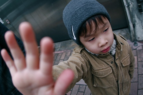 talk to the hand by Gideon Tsang, on Flickr
