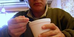 Beef Barley (O Caritas) Tags: portrait people selfportrait me dinner self soup ocaritas hobies