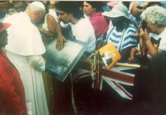 Pope John Paul II in Alice Springs