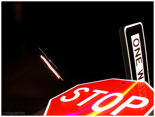 Stop - One Way - USA