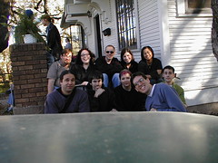 SXSW 2000, milkshake media party (mathowie) Tags: geotagged blogs nostalgia sxsw mathowie owen kottke maura bump brig nubbin evhead maganda jacksaturn sxsw2000 geolat30270568 geolon97748158 mauradotcom