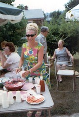 Grandma Beverly (goldberg) Tags: old family grandma picnic baltimore scanned