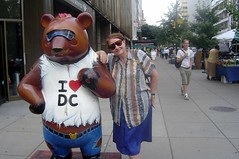 I love Washington, I was young 70 then (Julie70 Joyoflife) Tags: bear street travel usa 2004 me washingtondc washington divers travels julie rue pays ontheroad ours voyages ilovedc fromstreet photojuliekertesz creativeageing mylifeafter70 from70to72