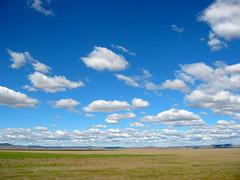 Lake George, clouds