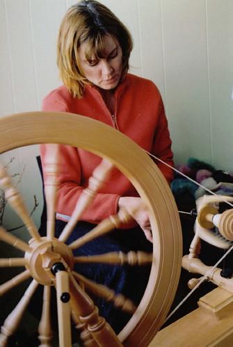 shelia spinning