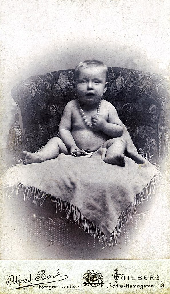 my maternal grandmother as a baby