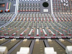 Sound Mixing desk by Gerrysan