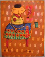 os gemeos show (BIGAWK) Tags: brasil brazil osgemeos gemeos os urban streetart painting illustration graffiti graff family draw create characters character art