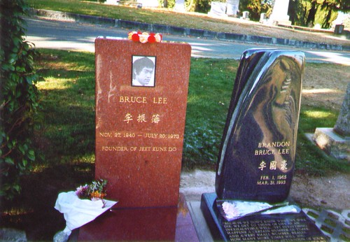 Bruce and Brandon Lee Grave Site