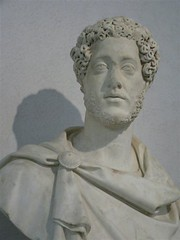 Portrait of Young Marcus Aurelius, future empe...