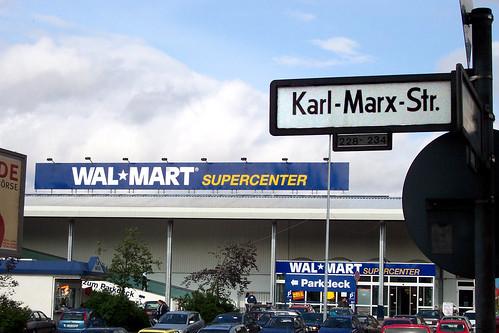 Image of Wal-Mart Super Centre on Karl Marx Strasse in Berlin