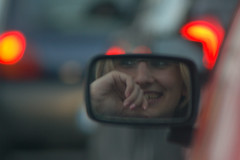 Bored in  Traffic -- snap5 - by Pedro Vieira
