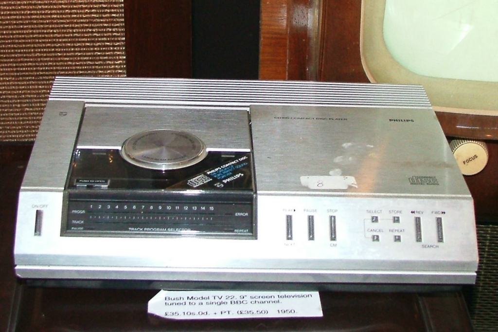 Old CD player