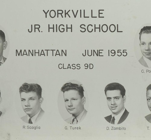 G Turek Yorkville Jr High School 1955 by marmalade brat