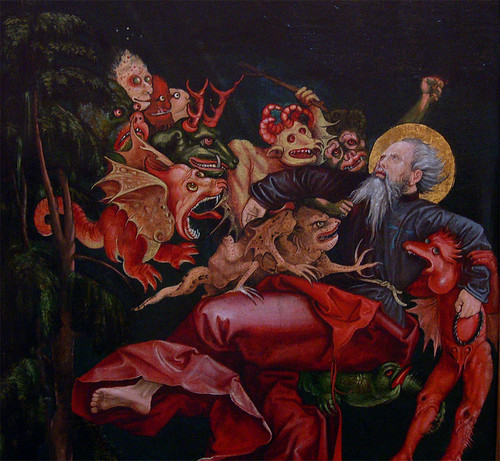 Painting: The Temptations of St Anthony