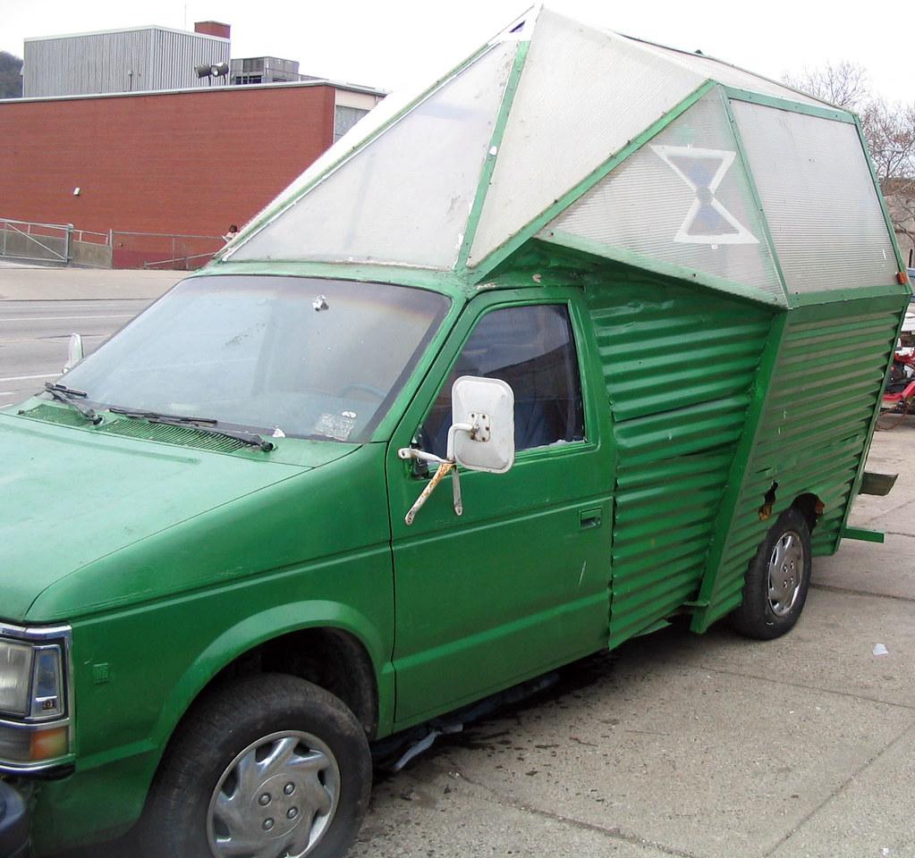 Greenhouse truck