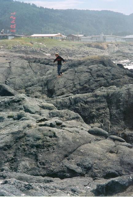 Ben On Rocks