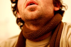 Need a damn shave (grass) Tags: me scarf slideshow stubble selftake needashave