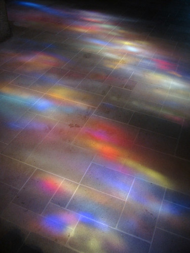 Stained Glass on Floor by Eric in SF