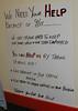 A plea for help (dulcelife) Tags: 911 wtc newyorkcity newyork wallstreet worldtradecenter twintowers dulcelife path financialdistrict disaster groundzero olympus olympus4500