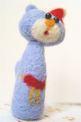 (karen.tkr) Tags: softie cat needle felting krafola