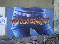 Levis (duncan) Tags: barcelona graffiti cool spain jeans flickoff levi levis psfk mycooljeans