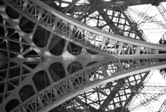 Tour Eiffel (Davoud D.) Tags: paris france tower metal iron tour eiffeltower eiffel icon structure toureiffel champdemars metalwork lattice gustaveeiffel latticetower 324m