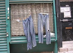 lesjeans (cityrag) Tags: street art jeans lower east side new york mycooljeans general