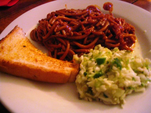 Barbecue Spaghetti Takeout, Bar-B-Q Shop, Memphis