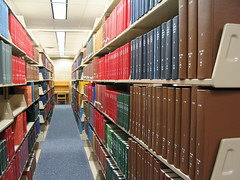 in the stacks by eclecticlibrarian, on Flickr