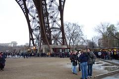 Eiffel Tower's Leg