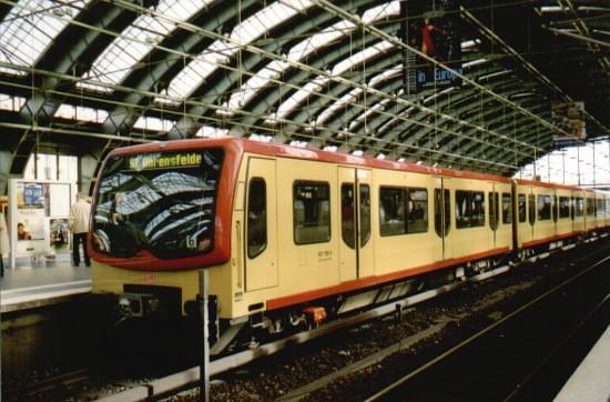 S-Bahn 481 196 by ralfbj70