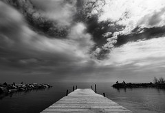 zIMG_3276 (re-Verse) Tags: toronto tpmg beach dock sky blackwhite savedbythedeletemegroup favorite silver printed