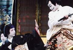 The Kabuki played by boys 2 (転倒虫) Tags: people japan nagahama kabuki boy