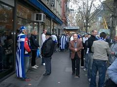 Before the Greece - Australia Football Friendl...